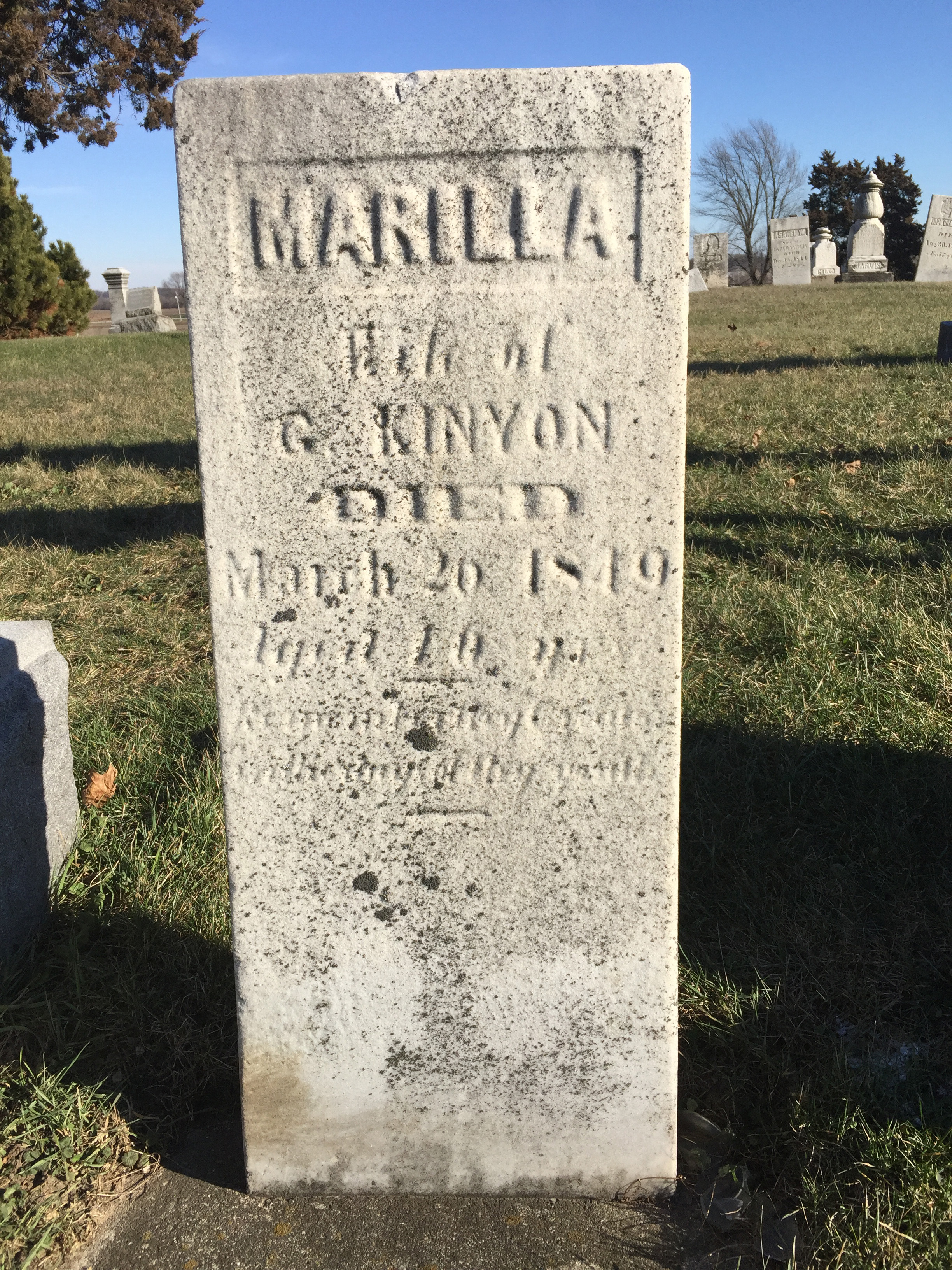 marilla stone